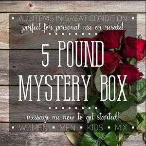 Other - ❗❓❗FIVE Pound Mystery Box❗❓❗